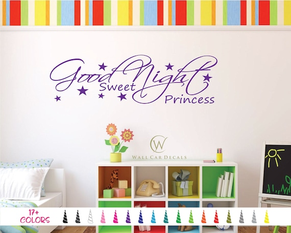 Sweet Dreams door window wall Sticker Decal Adhesive Vinyl Bedroom Sleep Night