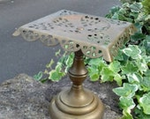 ENGLISH VICTORIAN HEARTH Kettle Stand Candle Stand