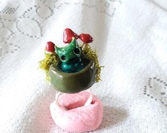 Baby Swamp Monster ring