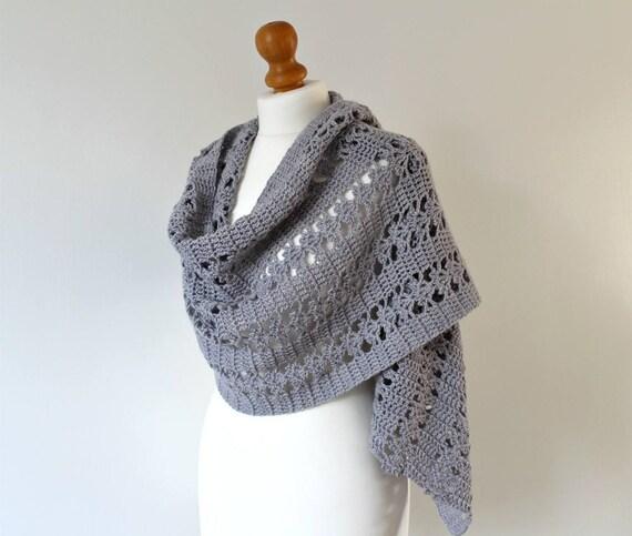 Crochet Shawl Pattern Womens Shawl Pattern Crochet Pattern Etsy