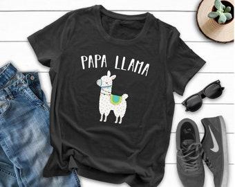160b64848e5 Papa llama Shirt