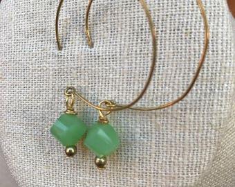 Sea Foam Green Earrings