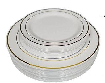 Popular items for plastic plates  sc 1 st  Etsy & Plastic plates | Etsy