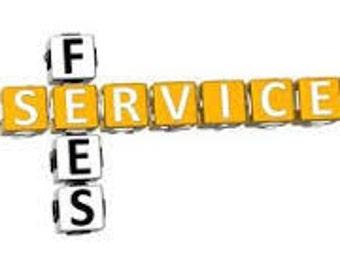 Five Dollar Service Fee