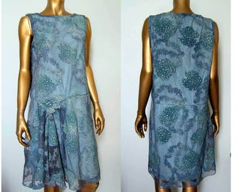 1920s Downton Abbey Flapper Miss Fisher Dress SM MED