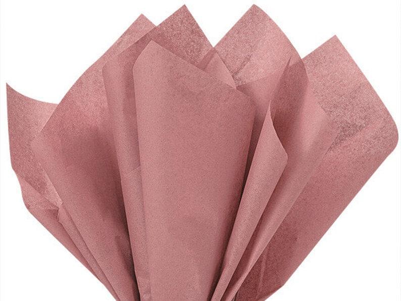 Rose Gold Packaging Rose Gold Gift Bag Tissue Dusty Rose Gold Tissue Paper Rose Gold Recycled Tissue Paper
