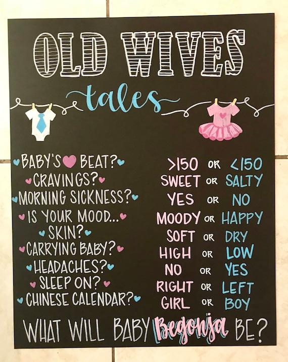 gender wives tales