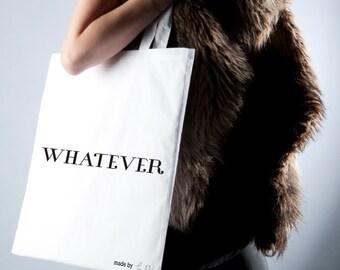 """""""Whatever"""" shoulder bag Tote"""