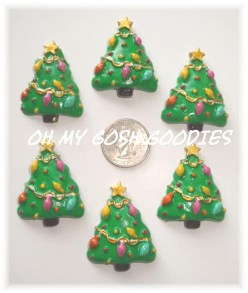 Oh My Gosh Goodies 2 Piece Set CHRISTMAS TREE LIGHTS Resins
