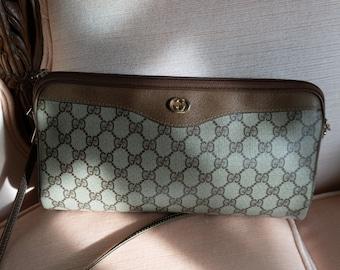 f88bc716b24b77 Authentic Gucci Handbag Clutch | Convertible Monogram