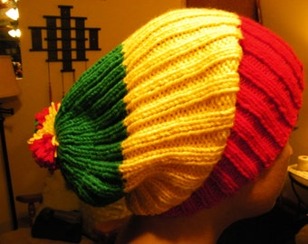 Ribbed Knit Hat (Made to Order)