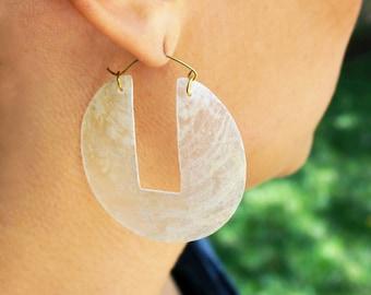 Kauai Capiz Shell Earrings