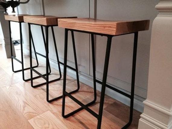 Enjoyable Metal Wood Bar Stools Bralicious Painted Fabric Chair Ideas Braliciousco