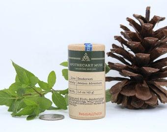 Deodorant - Awaken Adventure - Aluminum Free, Vegan, Zero Waste, Paraben Free, Alpine, Citrus, EVERYDAY - 1.5 oz