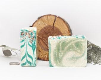 Soap - Purifying Spa - Shea Butter, Alpine, Citrus, Invigorating, Moisture Balancing, Exfoliating - 5 oz