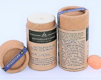 Sun stick - Woodsy Warrior - Sun Protection, Bug Repellent, Natural Formula, Vegan, Solid Stick -  Travel Size OR Family Size