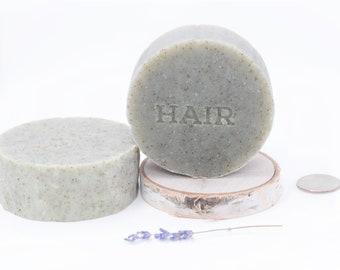 Shampoo Bar - Helmet Hair - Lime, Lavender, Tea Tree, Nettle - Plastic Free July, Zero Waste - pick your size