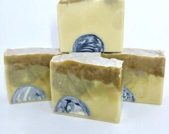 Soap - Longest Day Blend - Citrus, Neroli, Sandalwood, Uplifting, Cleansing, Vegan, Zero Waste - 5 oz