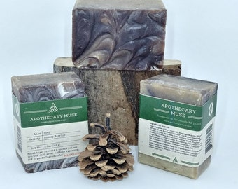 Soap - Woodsy Warrior - Poison Ivy Soap, Poison Oak Soap, Insect Repellent, MTB, Hiker, Grease Remover, Zero Waste - 5 oz