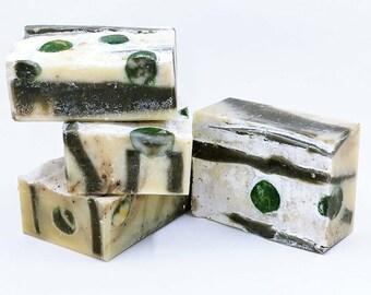 Soap - Trail Chef - Camp Kitchen, Deodorizing, Food Odor,  Coffee, Cedar, Lemongrass, Gift for Cook - 5 oz