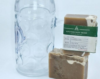 Soap - Prohibition Era - FATHERS DAY - BEER, Hops, Sassafras, Cedarwood, Cinnamon, Patchouli 5 oz