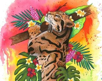 Jaguar Print