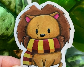 Gryffindor Lion Etsy You might belong in gryffindor, where dwell the brave at heart, their daring, nerve, and chivalry set. gryffindor lion etsy
