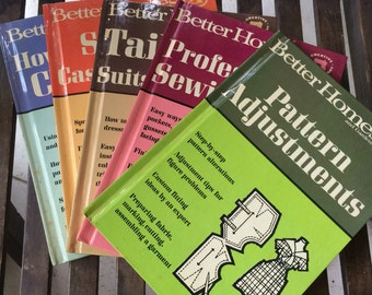 Better Homes and Garden vintage sewing books -set of 5