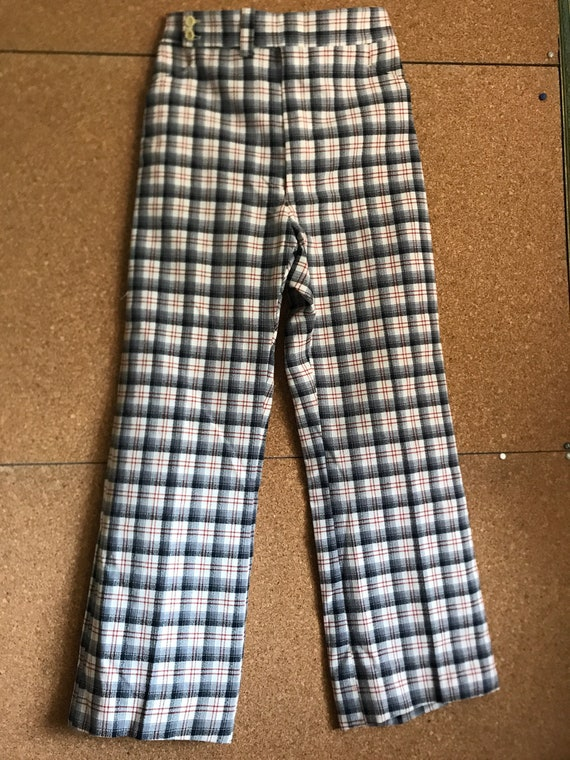 Vintage 70s plaid pants