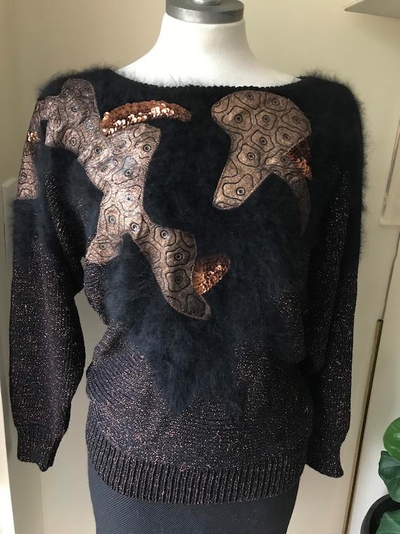 Vintage Cache bronze sweater
