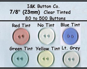 WHOLESALE BARGAIN 50 X ROUND WOOD BUTTONS 4 HOLE 23 MM GREEN TINGE LIGHT  WOOD