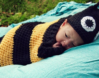 SnugBug Bumble Bee for Newborns