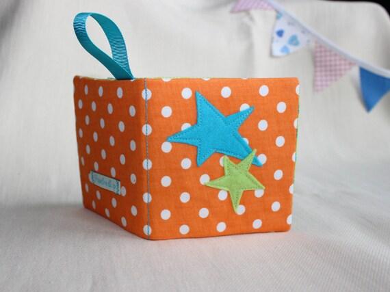 Livre D Eveil Livre Sensoriel Bebe Montessori Cadeau Naissance Livre Tissu Bebe Jeu Eveil Bebe 0 6mois