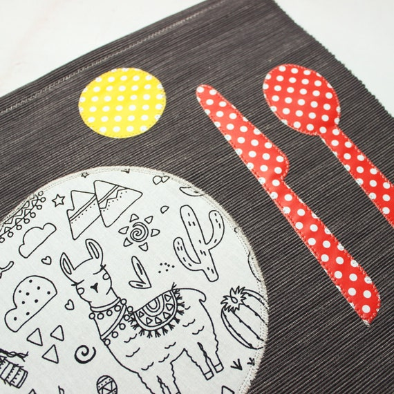 Personalised A4 Dinosuars Childrens Kids Dinner Puzzles 1 Placemat Mat