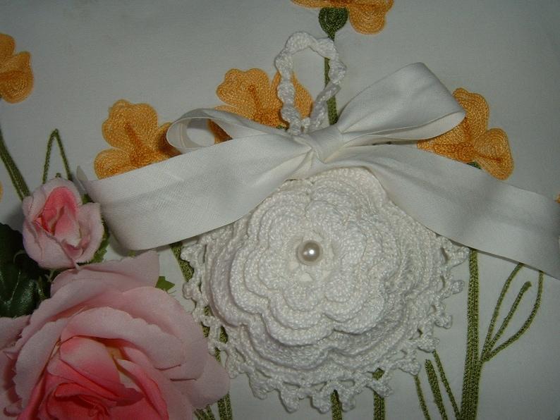 Sacchetto Bomboniera Per Matrimonio Alluncinetto Con Una Etsy