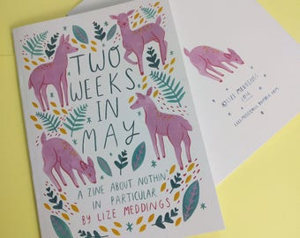 Two Weeks In May // A5 Zine