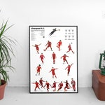 Special Edition Liverpool Current Players x Classic Kits European Cup Winners A2 Gloss Poster: 420mm x 594mm, LFC, YNWA, Anfield, Klopp
