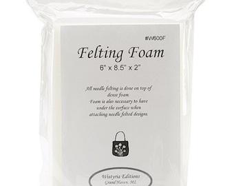 Wistyria Felting Foam Pad 6 x 8.5 x 2 Inches