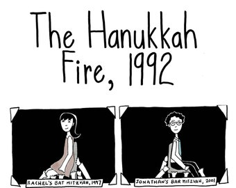 The Hanukkah Fire, 1992