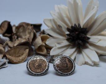 Vintage Button Earrings - Vintage Button Collection - Vintage Button Jewelry- Vintage Button Designs