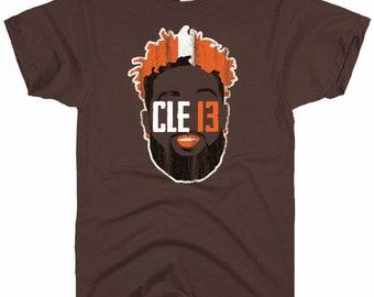 0f22a1183 OBJ Cleveland Browns Odell Beckham Jr Jersey T-Shirt
