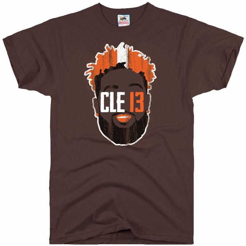 release date b507b 50a1a OBJ Cleveland Browns Odell Beckham Jr Jersey T-Shirt