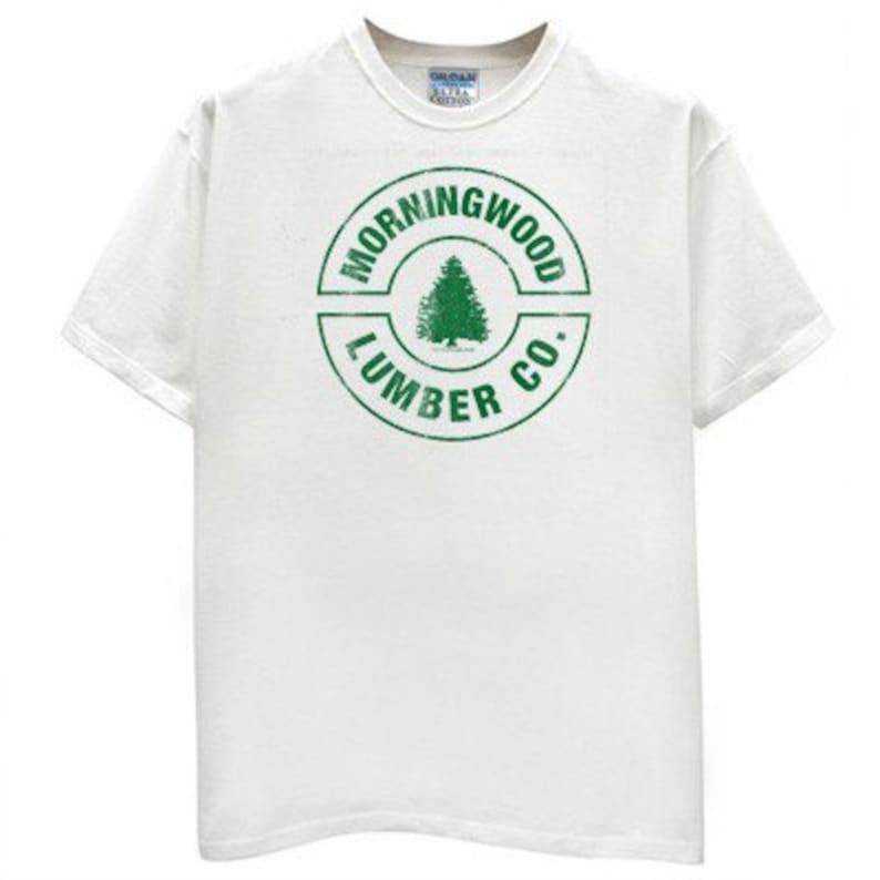 430aa74f7 Morningwood Lumber Co. funny T Shirt white adult humor tree   Etsy