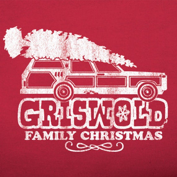 Griswold Family Christmas.Griswold Family Christmas Vacation T Shirt Red