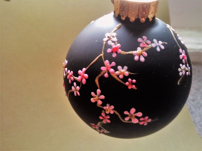 Hand Painted Christmas Ornament Decorative Ornament Hand Etsy