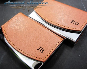 Unique personalized wedding gifts by weddingpartygifts on etsy personalized business card holder leather business card holder groomsmen gift personalized business card case colourmoves