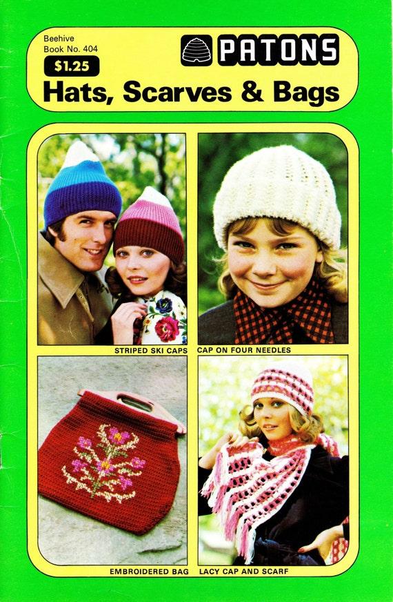 Vintage 1940s Patons Beehive 404 Knitting Crochet Pattern Etsy