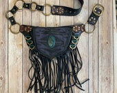 Pocket belt, festival hip pack, fanny pack festival bag, festival bag, festival belt