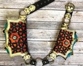 festival belt, pocket belt, featival bag, utility belt, sacred geometery