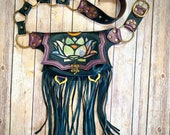 Pocket belt, festival hip pack, fanny pack festival bag, festival bag, festival belt